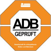 ADB geprüft: Siegel