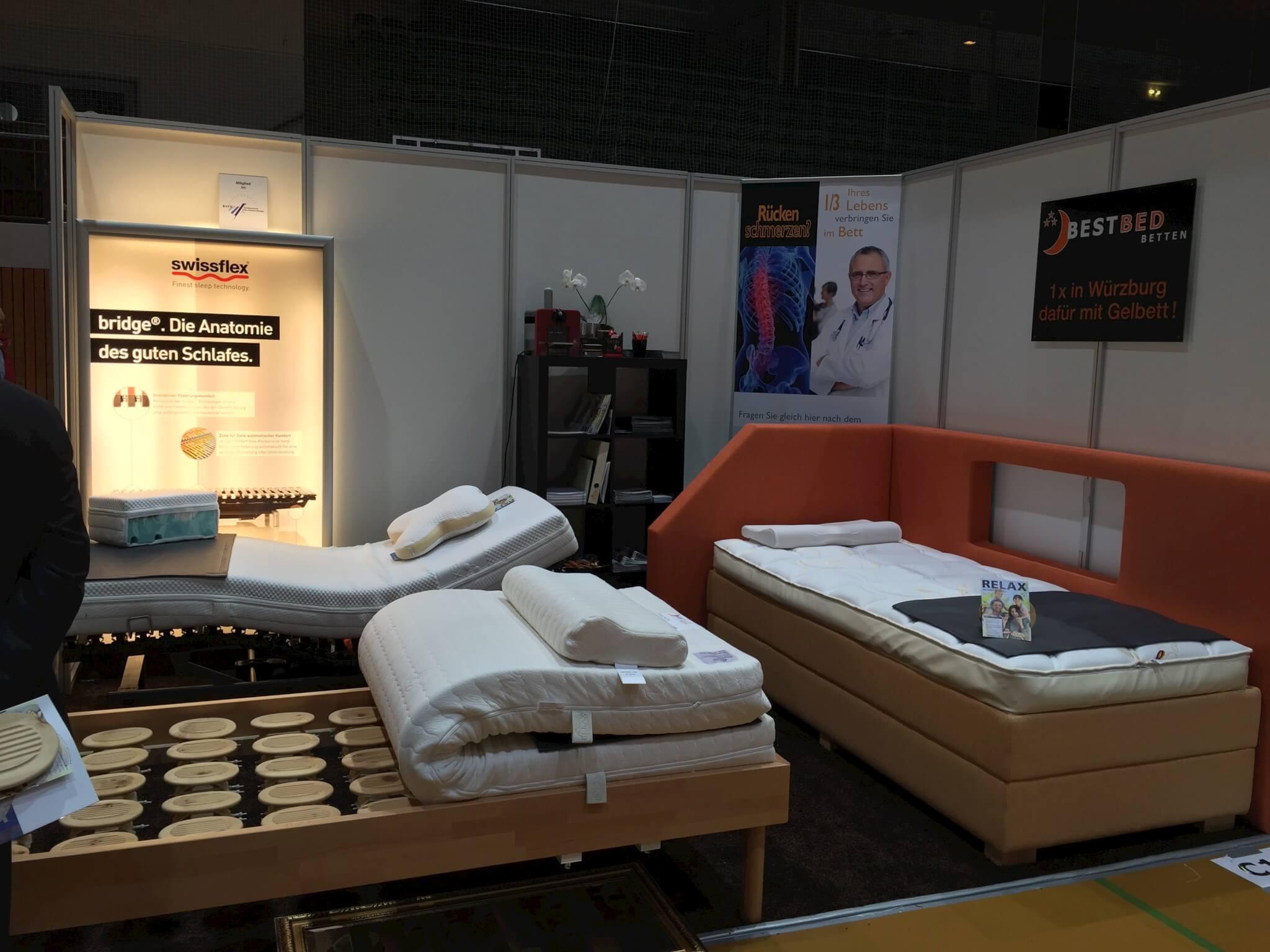 gesund vital messe in w rzburg 2015 bestbed. Black Bedroom Furniture Sets. Home Design Ideas