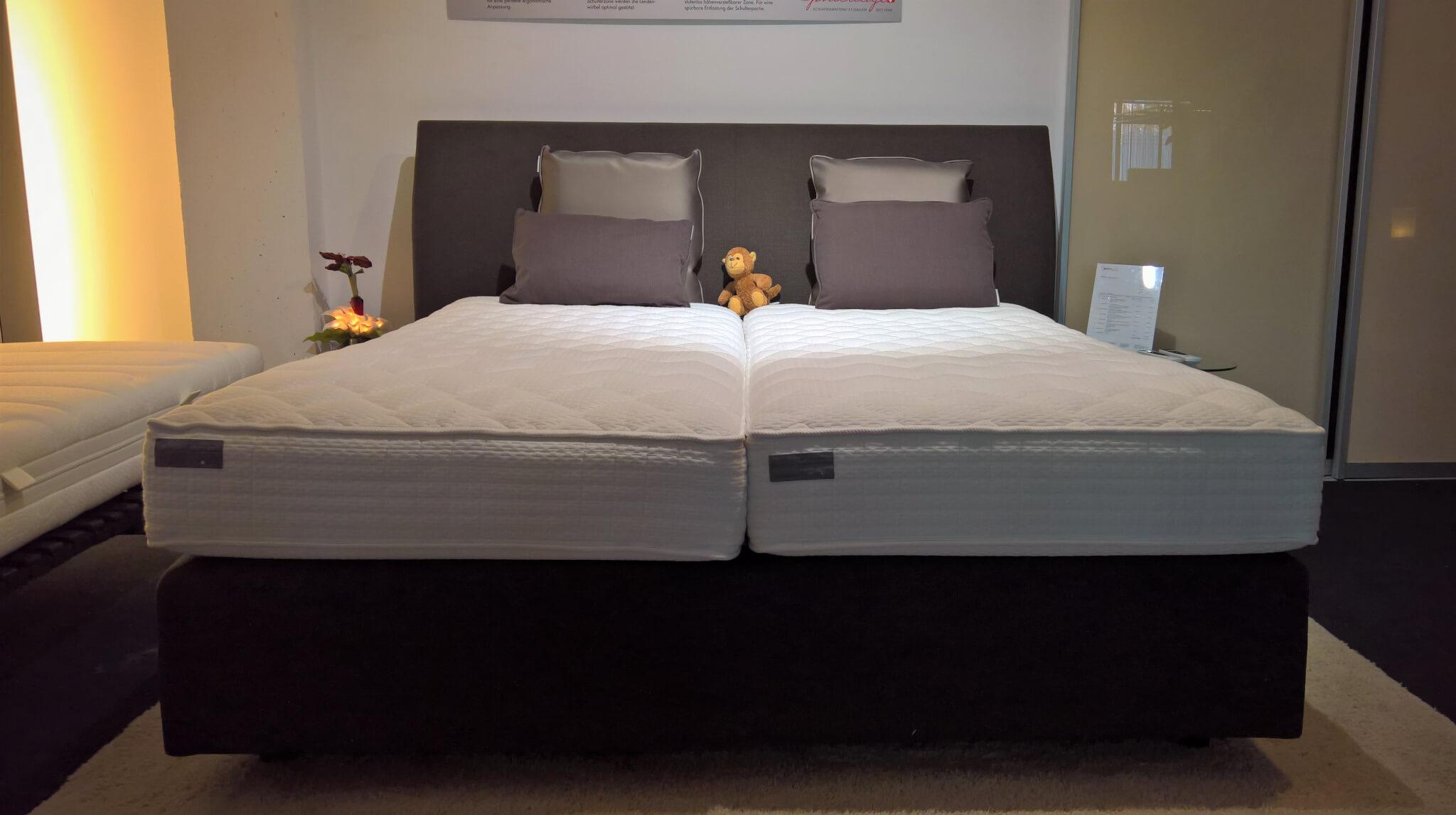 abverkauf philrouge eos boxspringbett mit motorischer ergo box bestbed betten die. Black Bedroom Furniture Sets. Home Design Ideas