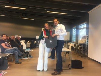 Lin Scherer bei SVANE in Norwegen