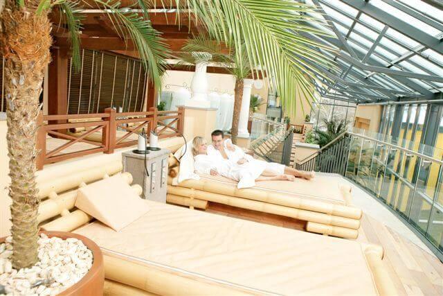 BESTBED Wellness Wasserbett Palmenhaus • BESTBED