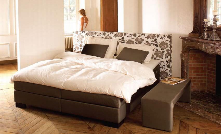 boxspringbett w rzburg. Black Bedroom Furniture Sets. Home Design Ideas
