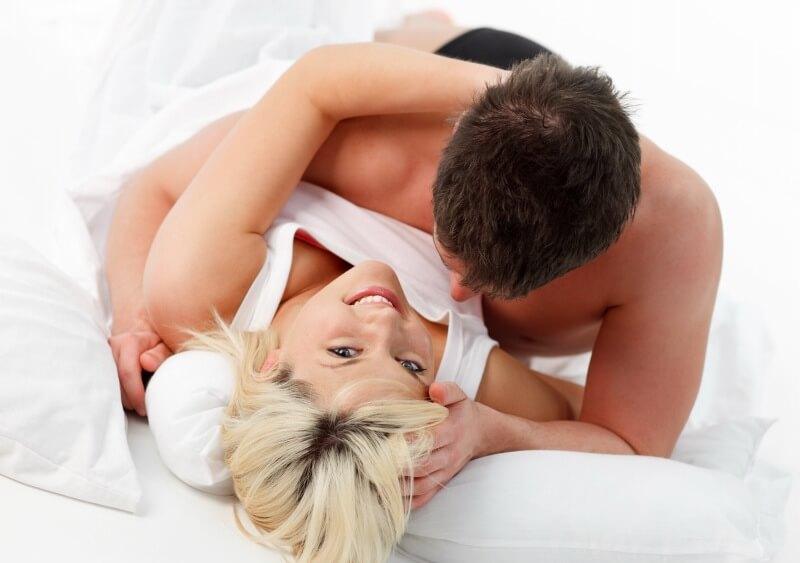 Guter Schlaf - guter Sex.