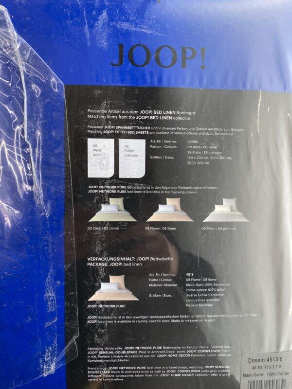Joop Network Pure Back