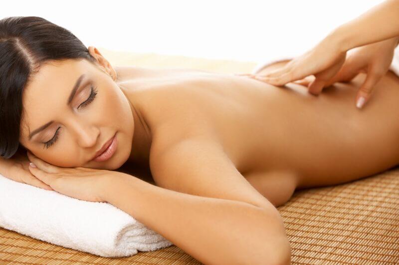 Wasserbett und Gelbett Massage