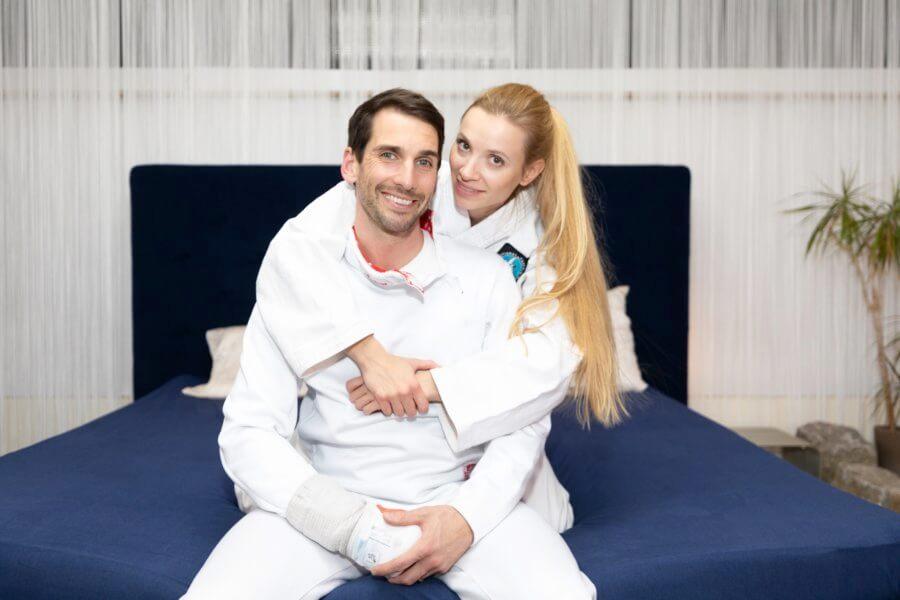 Wir würden uns sofort wieder für BESTBED entscheiden: Julia und Björn
